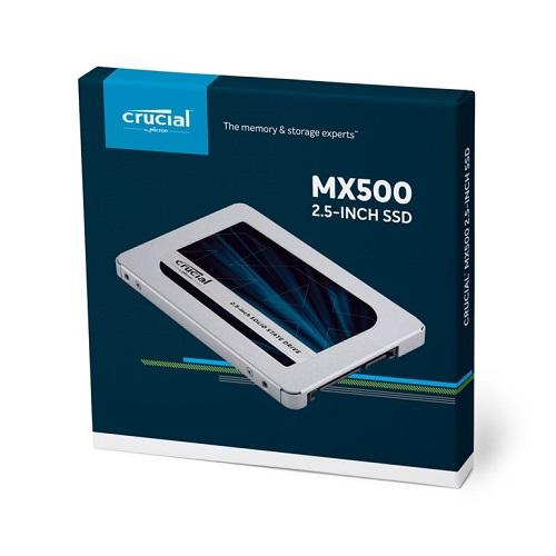 Ổ Cứng SSD Crucial MX500 3D NAND SATA III 2.5 inch 500GB CT500MX500SSD1