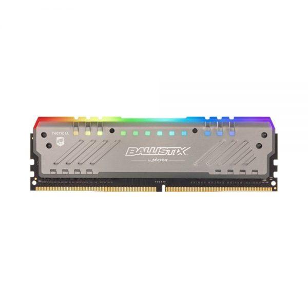 Ram PC Crucial Ballistix Tactical Tracer RGB 8GB (1x8GB) DDR4 Bus 3000 BLT8G4D30BET4K