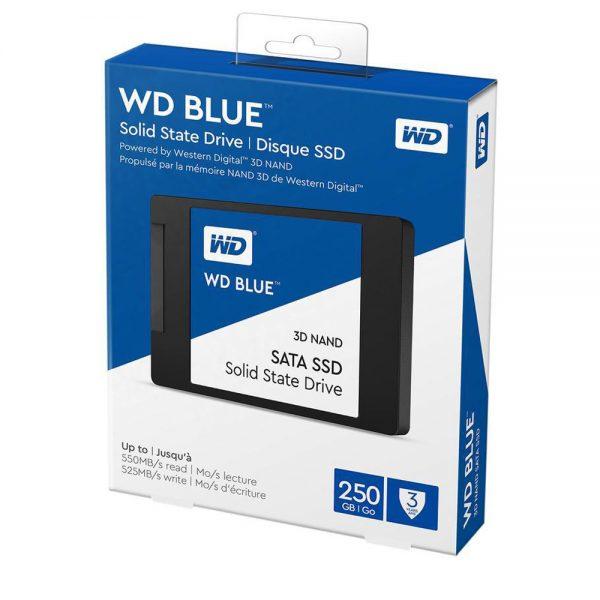 SSD Western Digital Blue 3D-NAND SATA III 250GB WDS250G2B0A