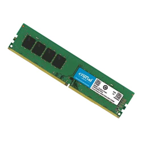 Ram PC Crucial DDR4 8GB (1x8GB) Bus 2400Mhz UDIMM - CB8GU2400